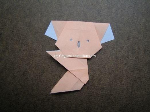 Origami Instruction Com Origami Easy Koala
