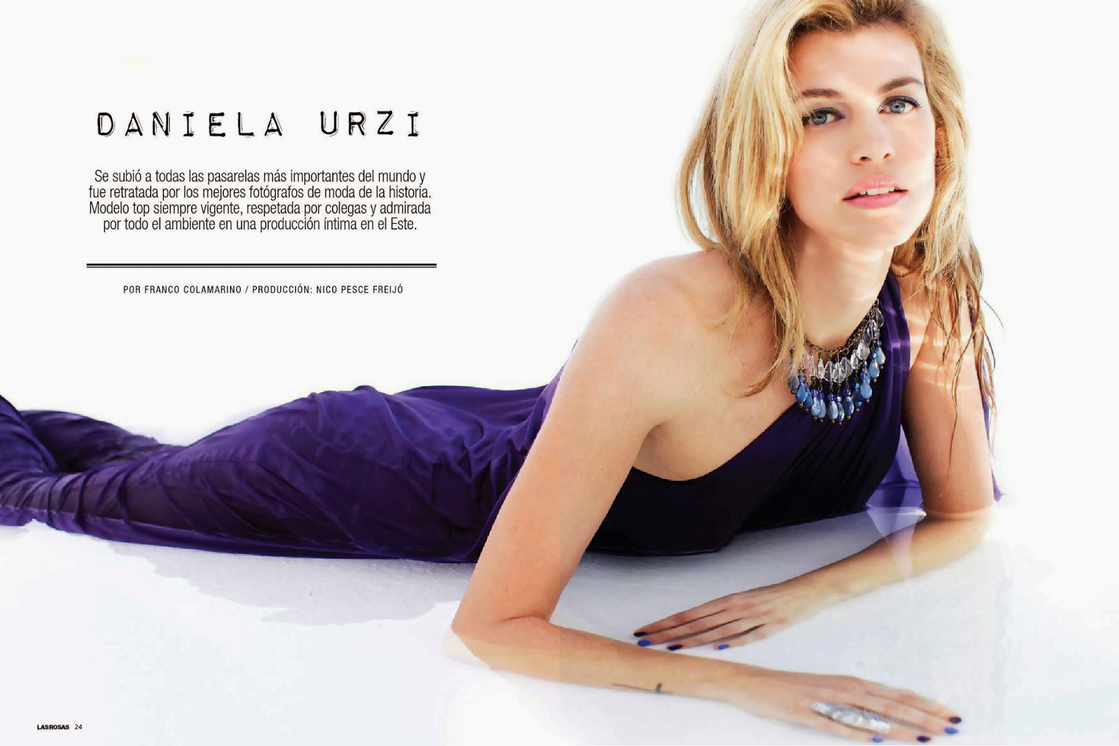 Daniela Urzi HQ Pictures Las Rosas Argentina Magazine Photoshoot February 2014 By Paloma Aballone
