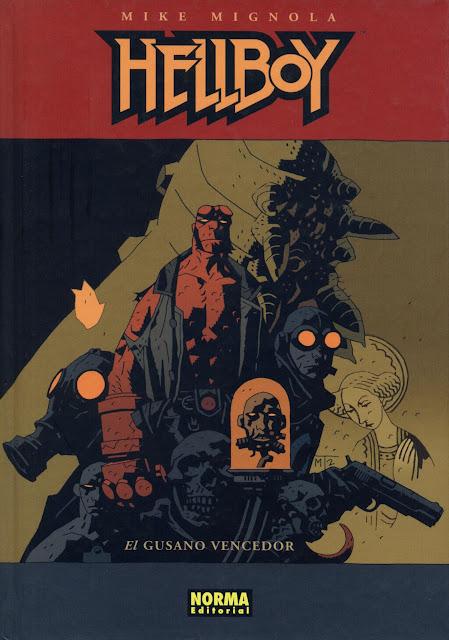 Portada del Tomo 5 Cartoné de Hellboy Editorial Norma