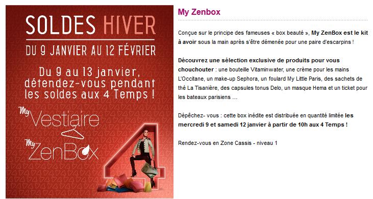 Miss Bons Plans Termin Samedi 12 Janvier Zenbox