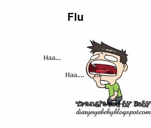 Gambar Kartun Flu