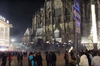 Tahun Baru di Jerman, Banyak Warga Arab Mabuk & Berbuat Asusila