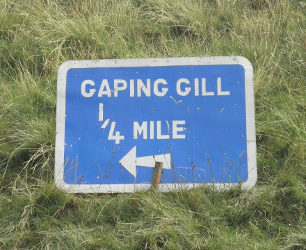 this way to Gaping Gill