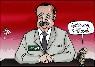 Cartoon on Turk elections