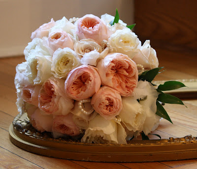 Saratoga Hall of Springs Wedding Rose Bouquet - Splendid Stems Event Florals