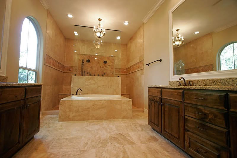 Travertine Bathroom Ideas | Bathroom Designs Gorgeous Marble Tiles As  Restaurant Highlights. We Are Used To Seeing Natural Stone Tiles In Spa  Centers, ...