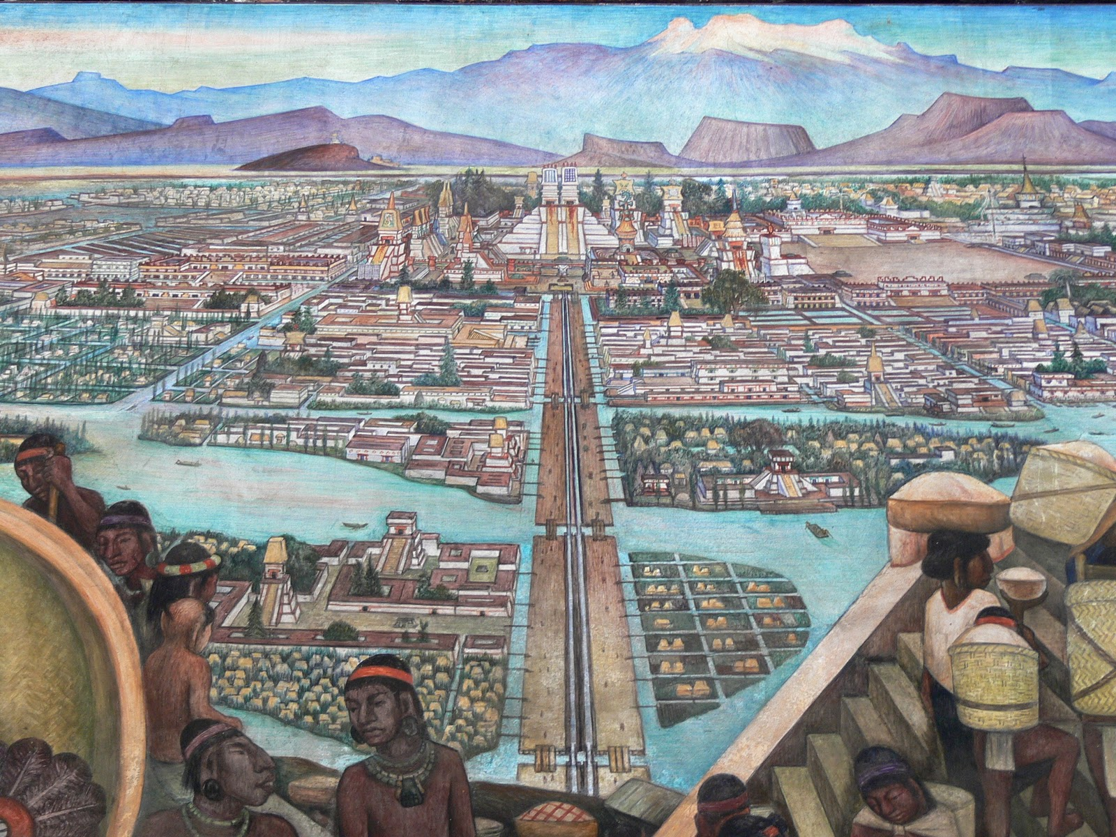 Bcr year 8 history images of tenochtitlan for Diego rivera tenochtitlan mural