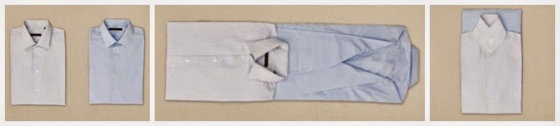 Como hacer la maleta de los niños - doblar camisas