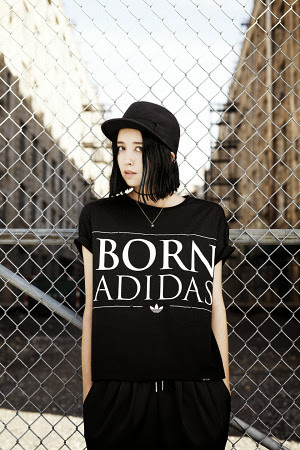 adidas adidas originals born adidas spring summer 2014 womens lookbook new release