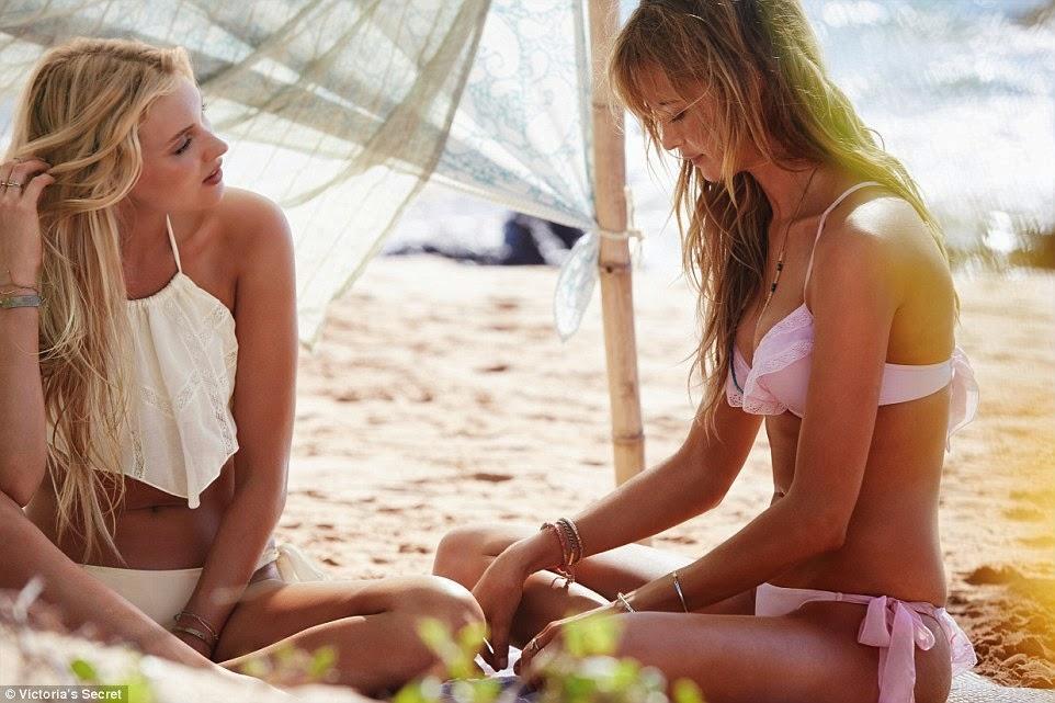 Victorias %2BSecret Angels sexy swimwear 2015 trend summer fashion white Victoria Secret 2015 mayo bikini koleksiyonu, yeni sexy Victoria Secret 2016 bikini modelleri