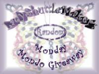 Monday Mondo Giveaway