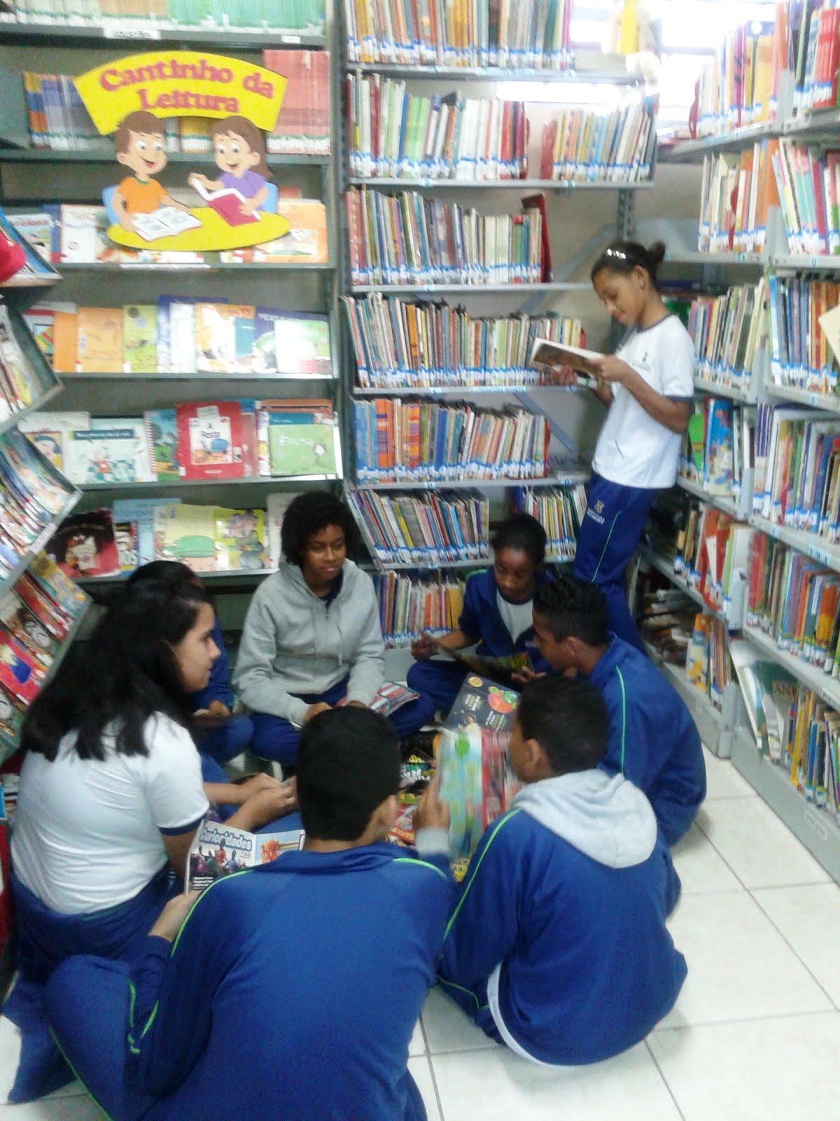 Roda de leituras