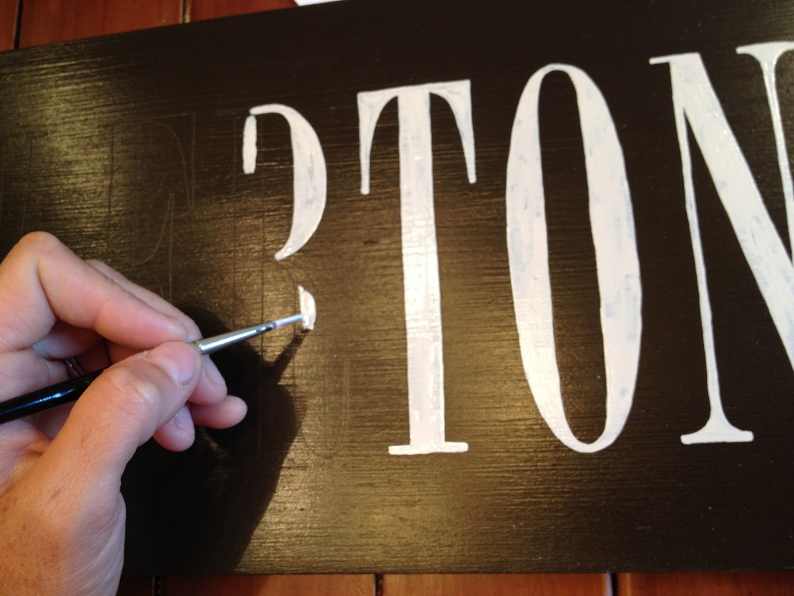 h is for handpainted paint how to handpaint without stencils