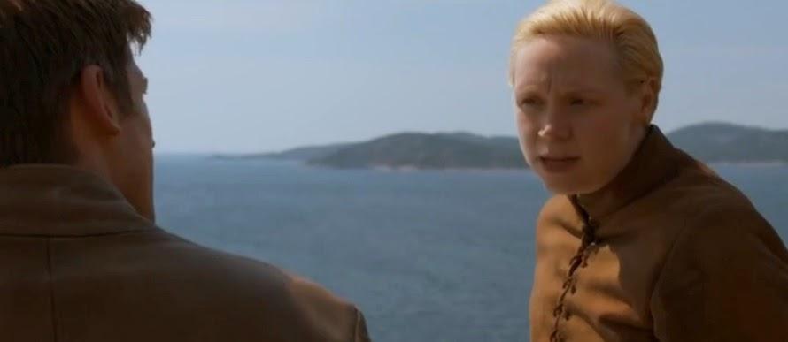 Jaime y Brienne episodio 4x01 - Juego de Tronos en los siete reinos