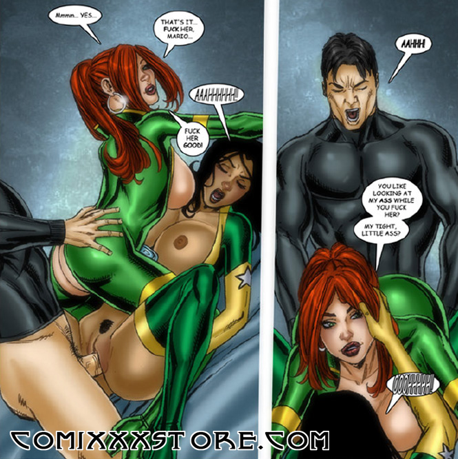 Sexy superheroine comic art matt johnson