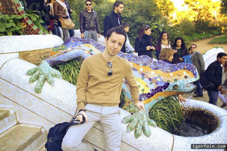 Gaudi Style Lizard