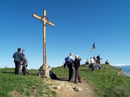 Arribant al Turó de la Creu de Gurb