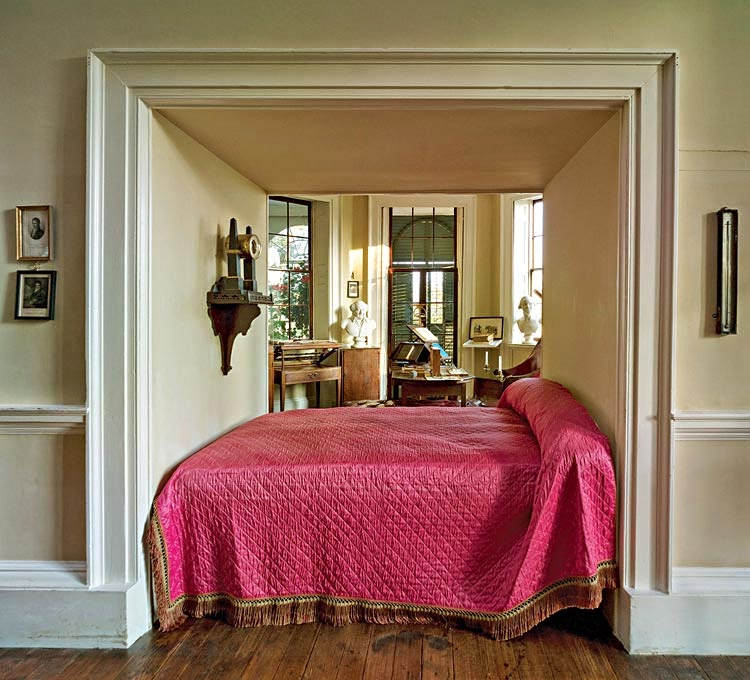 Another Design Choice Jefferson Made Was To Use Alcove Beds He Saw Them When In France And Incorporated Into The Bedrooms At Monticello
