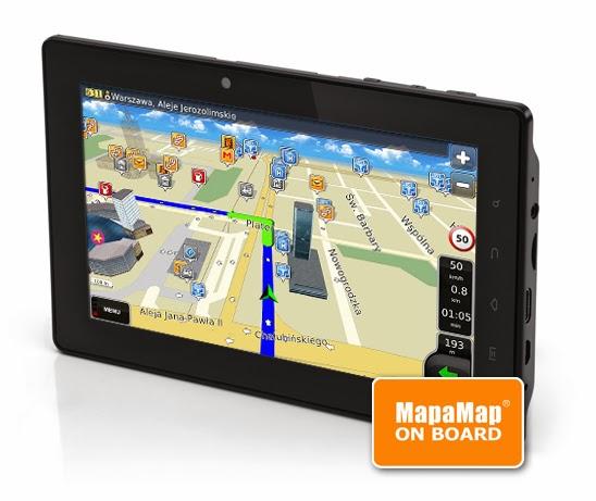 tablet FreeMe 70.55 z funkcją GPS