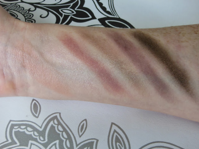Avon luxe collection swatches