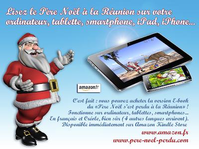 Les aventures du Père Noël sur smartphone et tablette