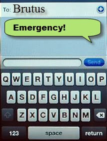 Emergency Text Alert