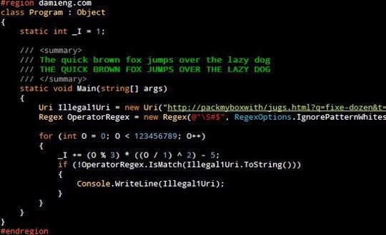 Droid Sans Mono Great Coding Font