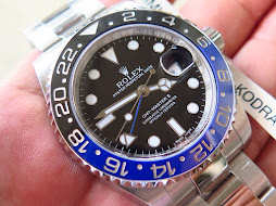 ROLEX GMT MASTER II BLUE BLACK CERAMIC aka BATMAN 116710BLNR - SERIAL RANDOM 2014 - MINTS CONDITION