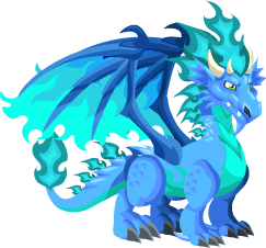 Dragon City - Dragao Fogo Frio