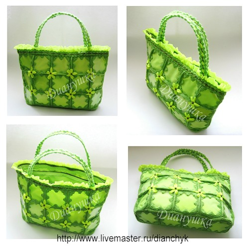 otro lindo bolso con reciclaje...