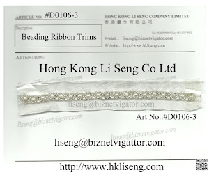 Beading Ribbon Trims Manufacturer - Hong Kong Li Seng Co Ltd