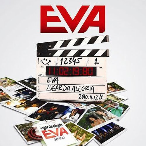 Capa do CD Banda Eva - Lugar da Alegria