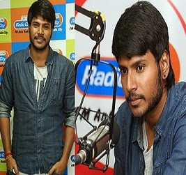 Sundeep Kishan at Radio City Studio