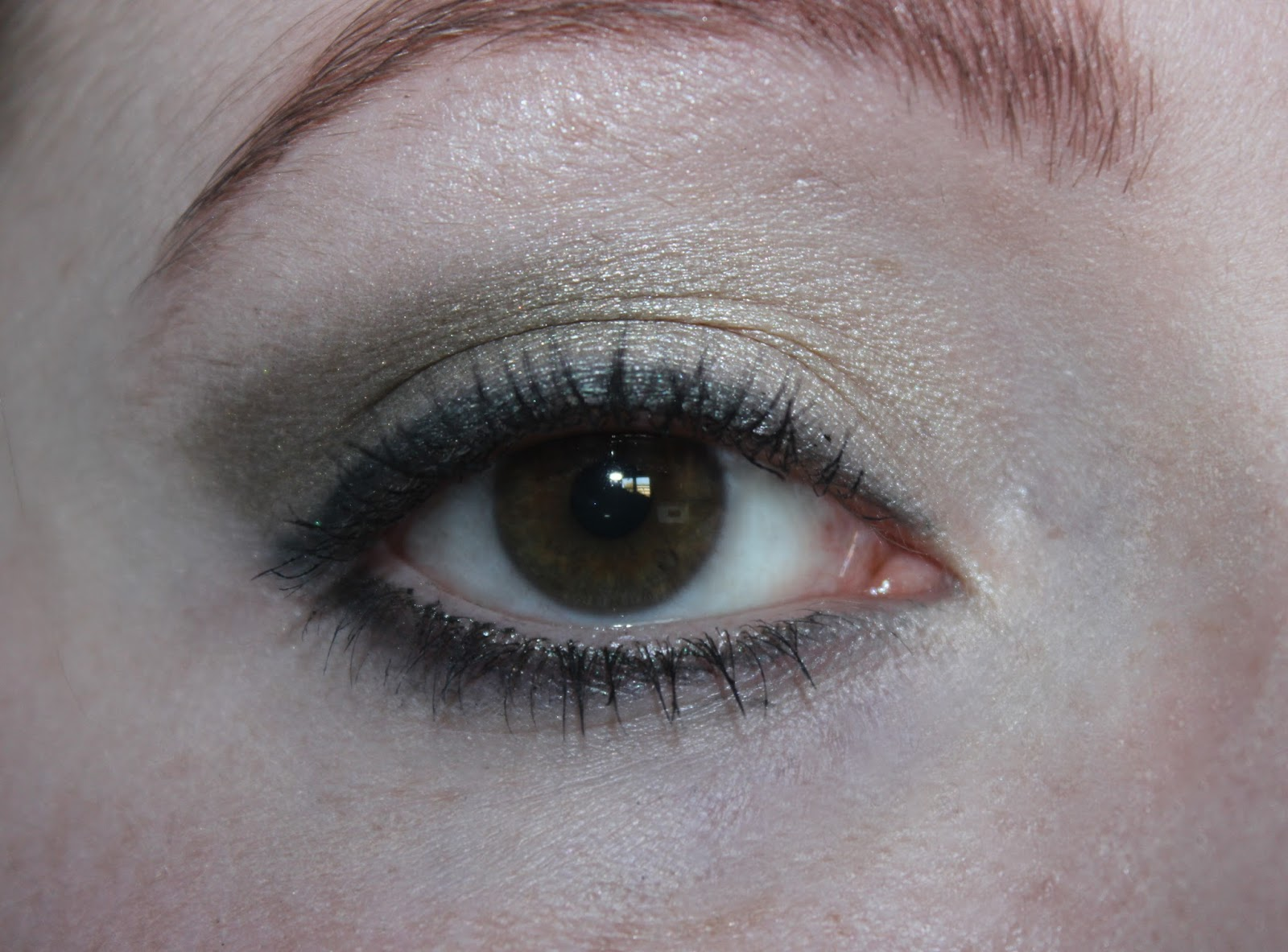 Makeup: Estee Lauder Green Eyes