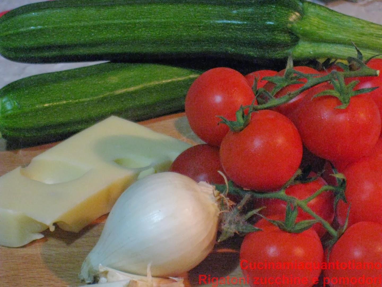 rigatoni zucchine