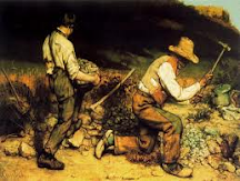 "TEMA nº 12.- Pintura  del Realismo - ""Los Picapedreros"" - Gustave Courbet."