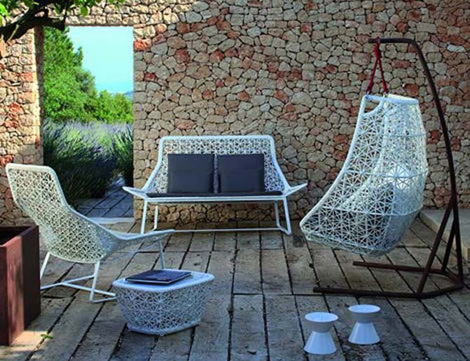 modern garden furniture home design interior