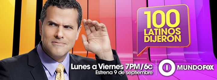 100 latinos dijeron 168 161 estrena el 9 de septiembre en mundofox