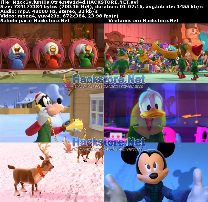 Captura Mickey y Sus Amigos Juntos Otra Navidad (2004) DVDRip Latino