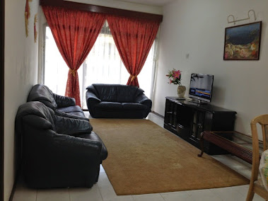 Nany Apartment Ruang Tamu
