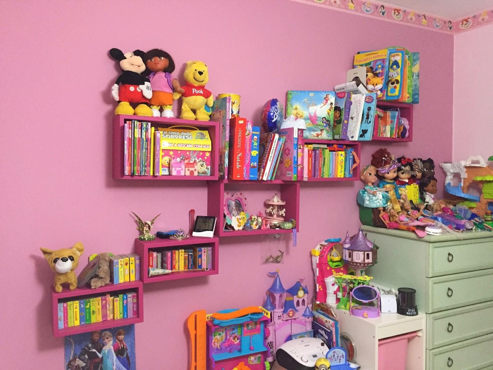 Idee per cameretta bambini scelta colori pareti e for Parete cameretta bambina