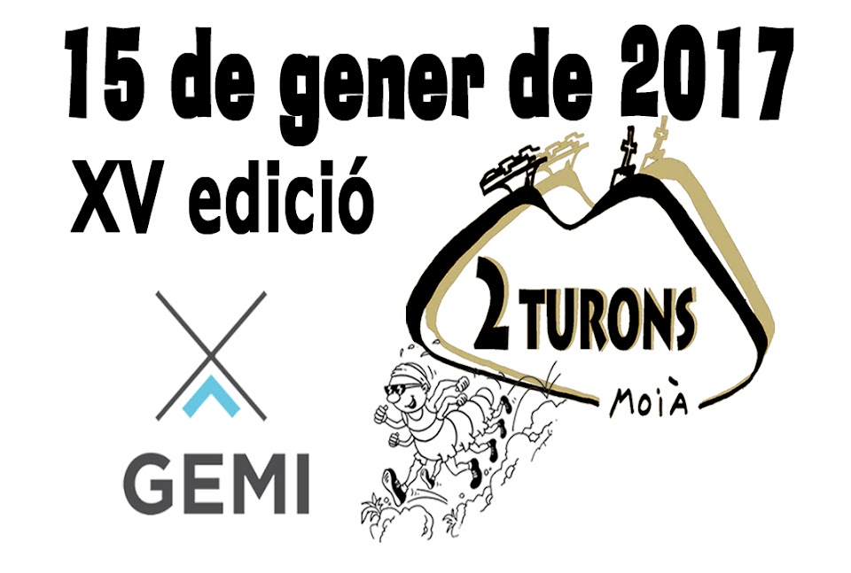 XV cursa de muntanya 2 TURONS