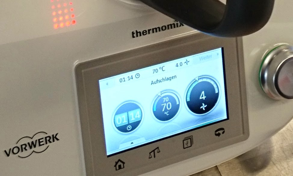 Touchscreen-Display des Thermomix TM5