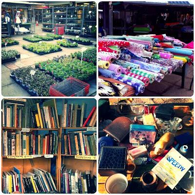 craftypainter: Hitchin market