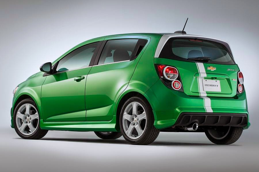 Chevrolet Sonic Performance Concept (2015) Rear Side