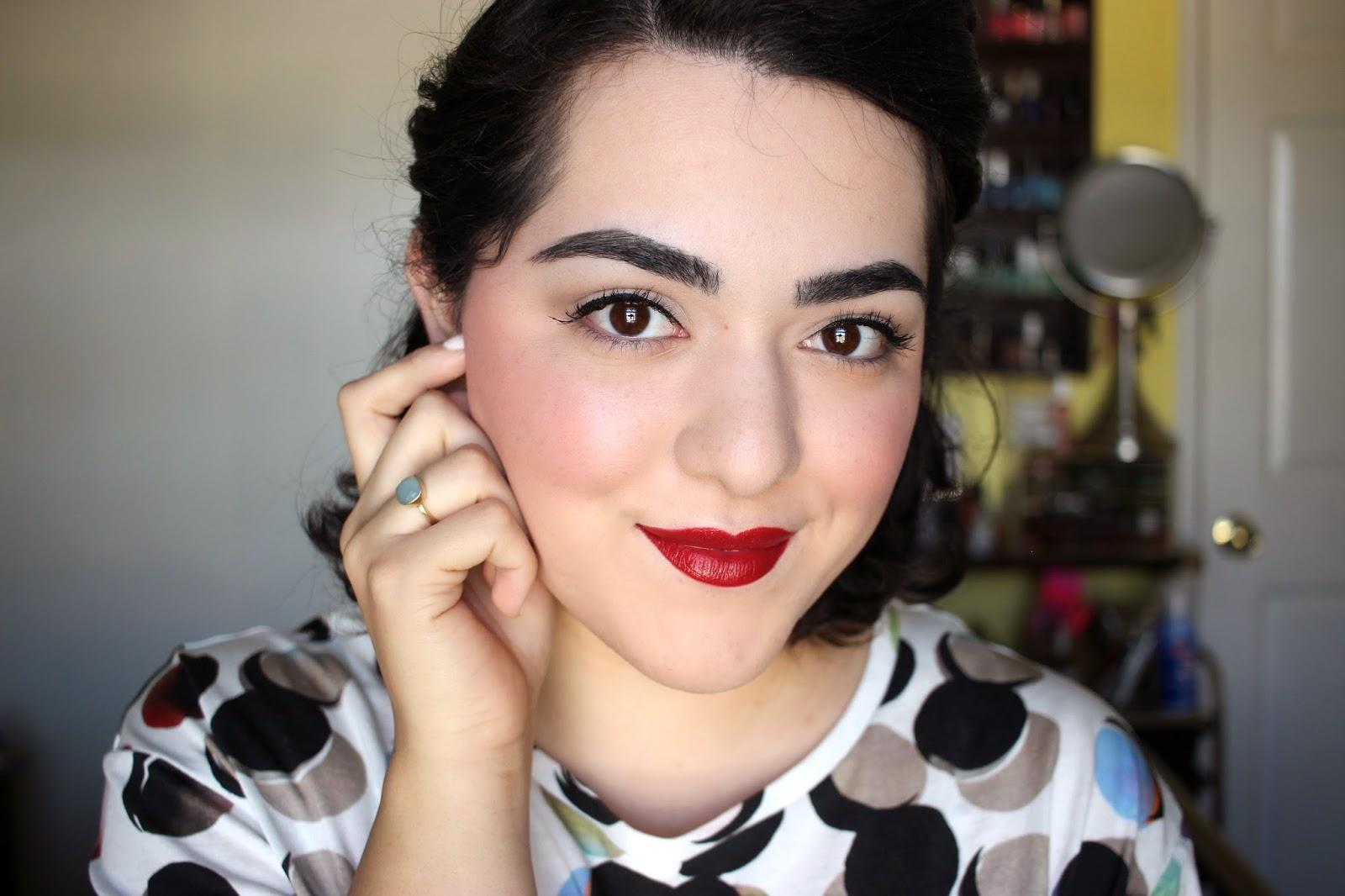 Maquillaje Inspirado por los Años 40