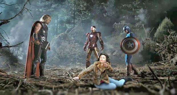 Scarlett Johansson Falling Down 8