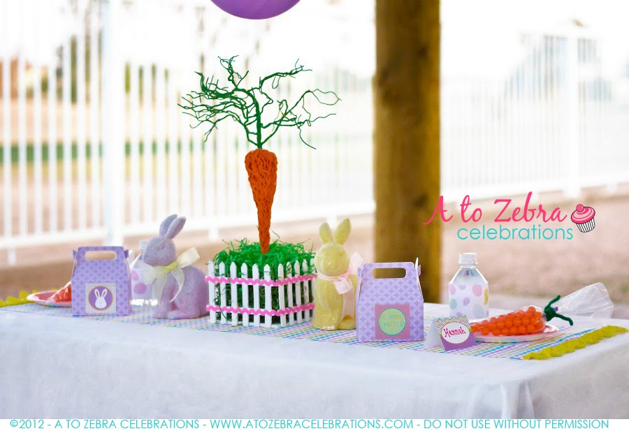 Easter Party A To Zebra Celebrations