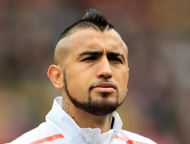 Arturo Vidal Haircut  ...