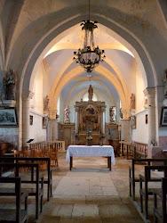 Choeur de l'église de COUSSEGREY